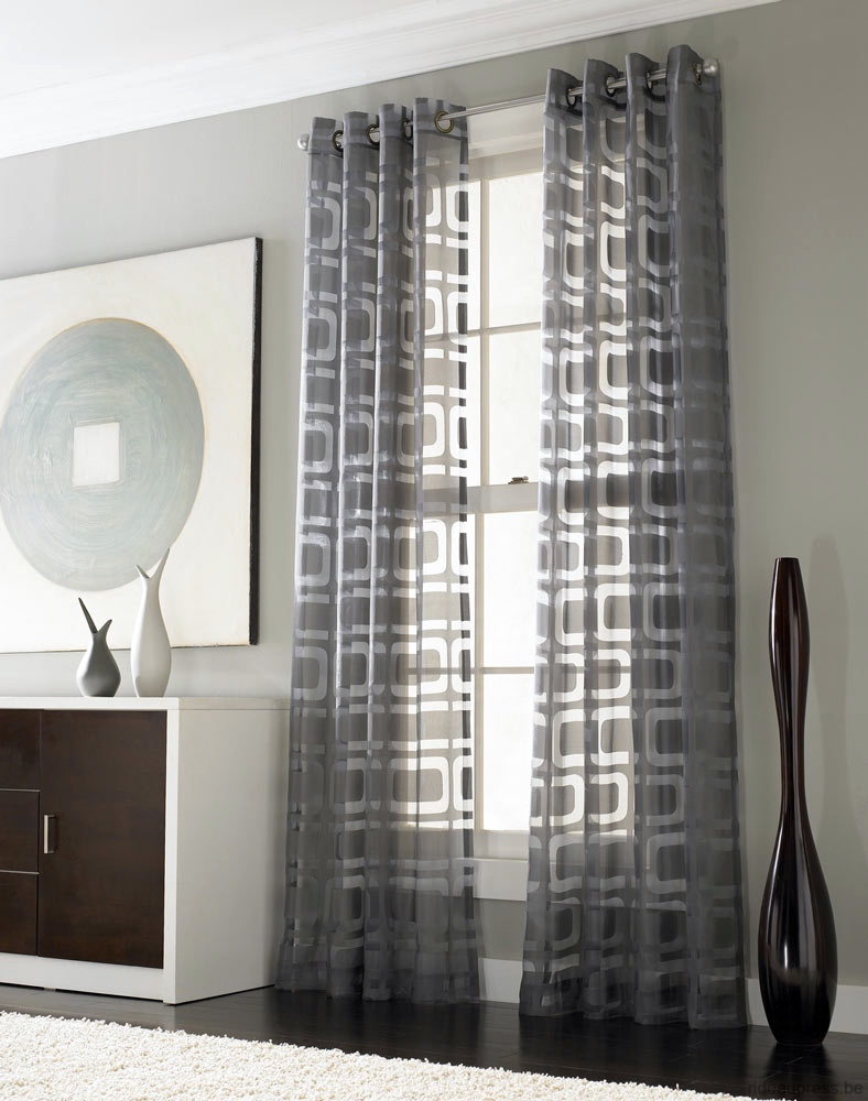 Picturesque Othello Modern Grommet Curtain Ideas For Large Windows